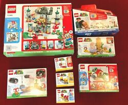 Brand New Lego Super Mario Lot Of 8 Sets 71360 / 71366 / 71367 / 71369 And 4 More