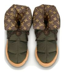 Louis Vuitton Snow And Rain Pillow Boot Water Repellent Nylon And Monogram Canvas 37