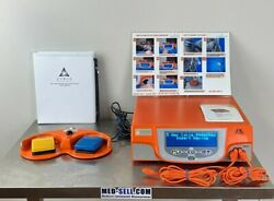 Gyrus Acmi Pk Superpulse Generator 744000 Version 3.02 W/ Foot Pedal And Cables