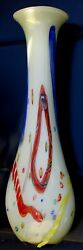 Extra Large Collectible Hand Blown Imbeded Colored Glass From China