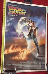 Back To The Future Original Poster Rolled