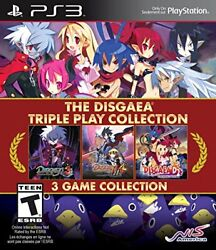 The Disgaea Triple Play Collection Import Version North America - Ps3
