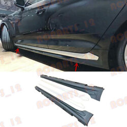 Abs Primer+silver Door Body Side Skirt Refit S5 For Audi A5 2017-2019