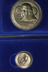 1984 And1985 American Numismatic Assoc. Convention Medal - 1984 Small 1985 Large