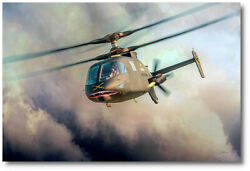 Fast Attack Raider By Peter Chilelli - Sikorsky S-97 Raider - Aviation Art