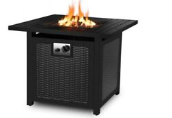 30 Propane Gas Fire Pit Table With Cover