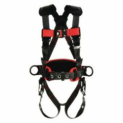 3m Protecta 1161316 Full Body Harness, Vest Style, M/l, Polyester, Black