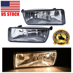 Pair Replacement Fog Light Bumper Lamp For 06-10 Ford Explorer 07-10 Sport Trac