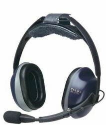 Pilot Usa Pa-1771t Anr Aviation Pilot Headset Cell Phone/music Devices Capable