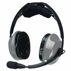 Pilot Usa Pa-2170t Passive Aviation Pilot Headset And Music Devices Compatible New