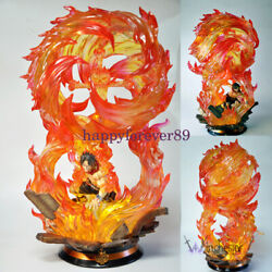 Apocalypse Studio One Piece Portgas·d· Ace Gk Collector Resin Led Limited Statue
