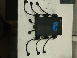1991 Yamaha 200 Hp V6 2-stroke Cdi Box With Coils Mount Cover. Used