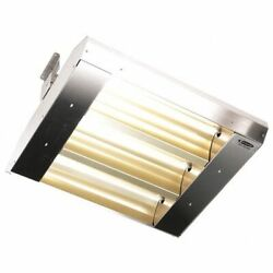 Fostoria 223-60-thss-480v Electric Infrared Heater, Ceiling, Suspended, 304