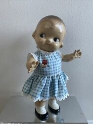 Vintage Campbell Soup Kid Composition Doll 12 1940's