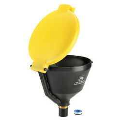 Pig Drm1680-rd Drum Funnel,10 Gal. Flow Capacity,red