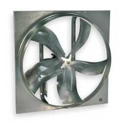 Dayton 7m7w9 Medium Duty Exhaust Fan With Motor And Drive Package 24 In Blade