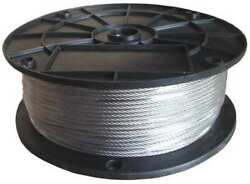 Dayton 33rh11 Cable3/8 In250 Ft6 X 37 Class Iwrcss