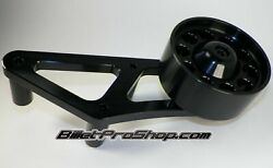 Bps 07-14 Mustang Shelby Gt500 Black Billet Auxiliary Idler Pulley Kit