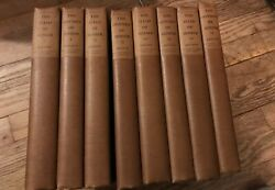 1905 The Odyssey Of Home William Cullen Bryant 8 Volumes 518/600 Large Paper