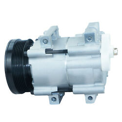 1pc A/c Compressor And Clutch For Ford Galaxy Transit Aerostar Explorer Mustang