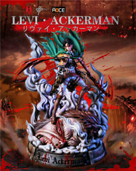 Lc Studio Attack On Titan Leviandmiddotackerman Resin Painted Limited Statue In Stock