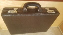 3875 Limited Edition Cole Haan 3 1/2 Full Quill Ostrich Brief Case