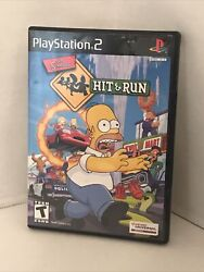 The Simpsons Hit And Run Playstation 2, 2003 Game