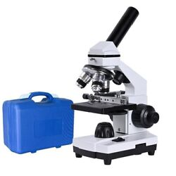 2000x Hd Biological Microscope Electronic Zoom Adjustment Coaxial Lab Education