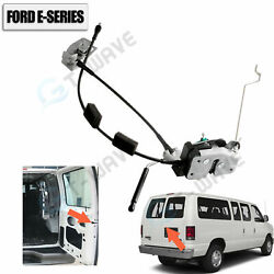 New Rear Right Door Latch Cable And Rod 92-14 Ford E150 E250 E350/oe-ac2z15431a02a