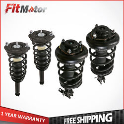 2 Front And 2 Rear Complete Struts For 2000-2001 Nissan Maxima Infiniti I30 3.0l