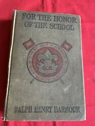 Every Boys Library - Barbour - For The Honor Of The School - Xlib -acceptable