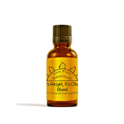 Sun Pure Botanicals Itand039s Alright Itand039s Okay Essential Oil Blend - 100 Pure