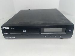 Apex Ad-1500 Dvd Vcd Mp3 Cd Player Dolby Digital Tested Excellent 🇺🇸