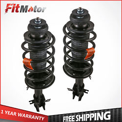 Driver And Passenger Front Complete Struts Assembly For 2004-12 Chevrolet Aveo Fwd