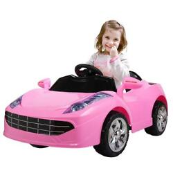 Tobbi 6v Kids Ride On Car 2.4g Remote Control Battery Powered Electric Toys With