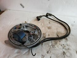 1972 Evinrude Johnson 25hp Outboard Motor Engine Coil With Mounting Plate