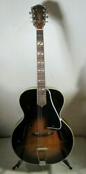 Vintage 1940and039s/50and039s Armstrong Dansant Carved Top Archtop Acoustic Guitar