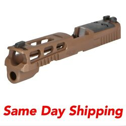 Sig Sauer Pro-cut Slide Assembly Coyote Brown 9mm 4.7 Barrel R2 Optic 8900174
