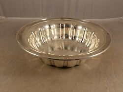 Vintage R Wallace And Sons Sterling Silver Bowl 1570-3 331 Grams