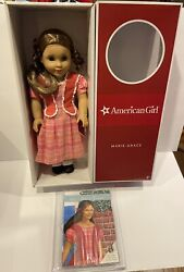 American Girl Marie Grace Retired Doll And Book Brand New In Box Retired