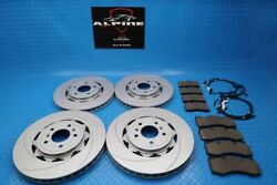 Aston Martin Rapide Front Rear Brake Pads And Rotors Topeuro 9206
