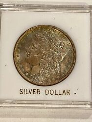 Beautiful Toned- 1887- U.s. Morgan Silver Dollar See Other Morgans And Coins