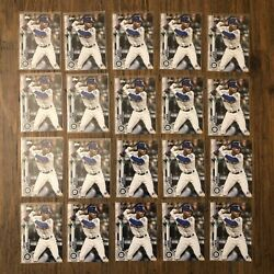 X20 2020 Topps Series 1 Kyle Lewis Mariners Rc 64 Rookie Lot Flat Shipping