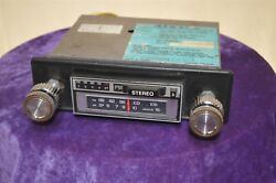 Old Vintage Radio 8053796 Audiovox 1970's Solid State Am/fm 8-track Stereo Japan