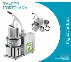 Vegetable Cutter Tv4000 The Vegetable Cutter With Discs And Without + Disc...