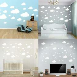 Cloud Wall Stickers Children Bedroom Nursery Wall Decal Home Decoration H1PS 09