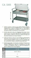 Stainless Steel Refrigerated Service Trolley With 8 Eutectic Plates Ca1365...