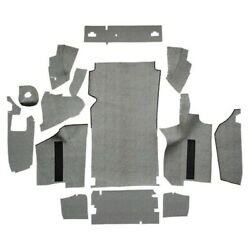 Trunk Mat For 1965 Ford Thunderbird Convertible With Boards Burtex