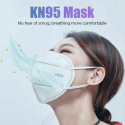 5-layer Kn95 Face Protection Respirator Masks Mouth Cover K-n95 Gb2626-2006