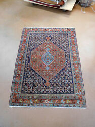 Antique Bijar Rug Circa 1920s Lovely Carpet 3and03910and039and039 X 5and039